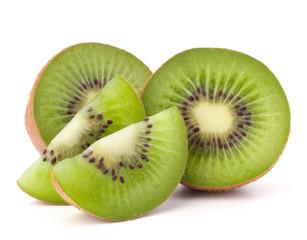 Fototapete - Kiwi fruit sliced segments