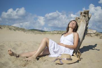 Fotobehang Relaxing under the sun