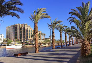 Eilat - a resort on the Red Sea, Israel