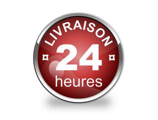 Bouton livraison 24h