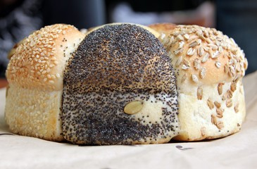 Loaf of Seeded speicality bread