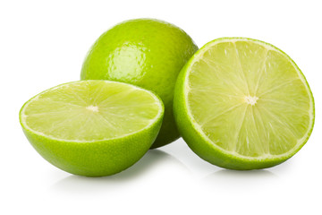 halves of lime