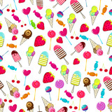 elegant candy themed background stock image and royalty free vector