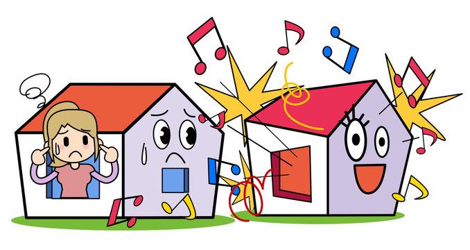 Neighborhood trouble-The noise