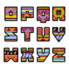 mexican alphabet (part 2)