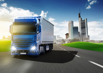 Fototapete - Truck