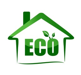 eco house - green eco