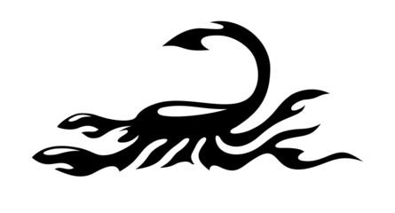 Scorpion abstract