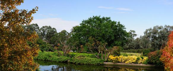 jardín panorámico