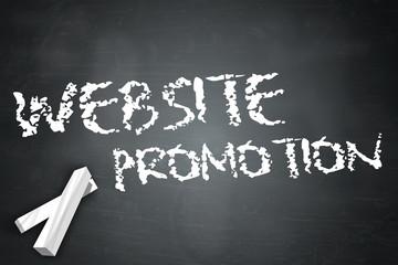 """Blackboard """"Website Promotion"""""""