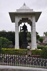 Birla Mandir (Hindu Temple) in Hyderabad, Andhra Pradesh in India