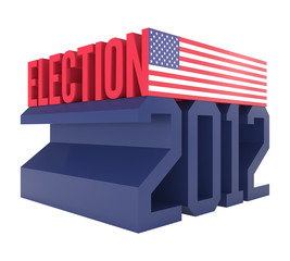 USA Presidential Election 2012 Icon