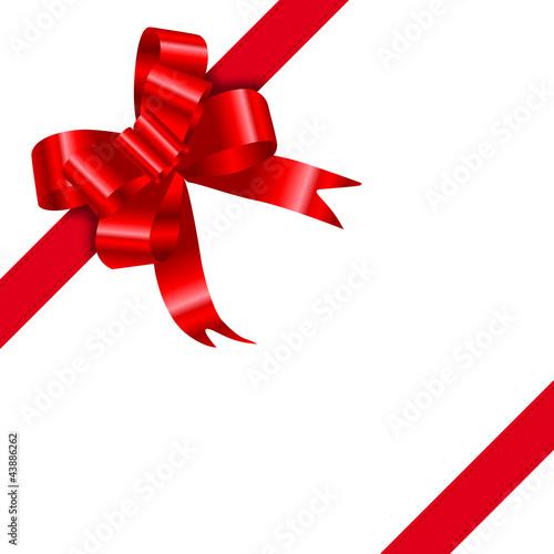 noeud rouge fichier vectoriel libre de droits sur la banque d 39 images image 43886262. Black Bedroom Furniture Sets. Home Design Ideas