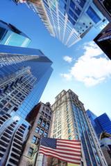 Fotomurales - New York et ses buildings.