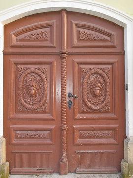 Old front door
