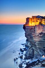 Photo sur Aluminium Bleu jean Bonifacio - Corse du Sud