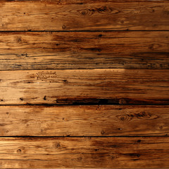 worn wooden wall