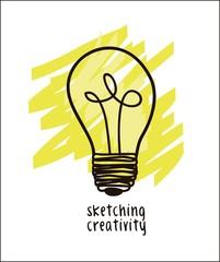 illustration of bulb