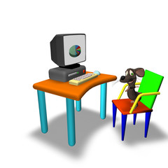 3D Mouse with Computer