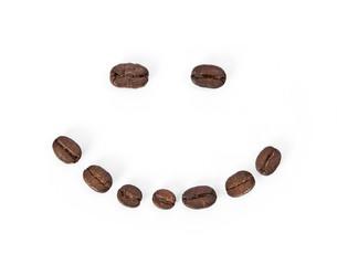 Photo sur Toile Café en grains Coffee bean smile