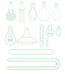 Light Bulbs set