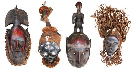 African masks2