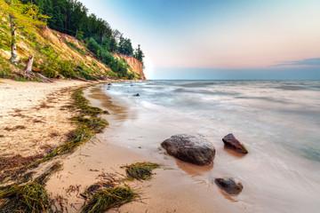Obraz Urwisko Orłowo na Morzu Bałtyckim, Polska - fototapety do salonu