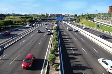 M30 highway in Madrid