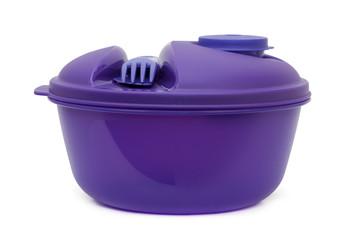 Lunch box, plastic bowl
