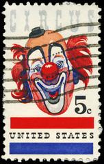 USA - CIRCA 1966 Clown