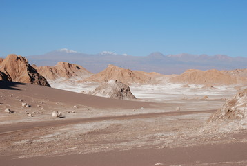 Moon Valley Atacama Desert