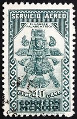 Postage stamp Mexico 1935 Aztec Bird-Man