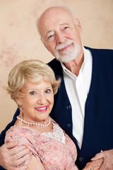 Portrait of Beautiful Senior Couple
