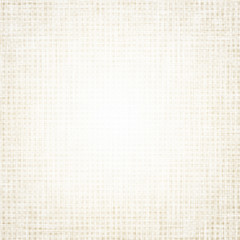 beige canvas texture with delicate grid, white background