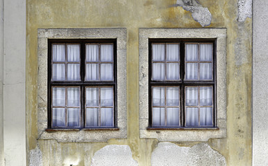 Two old windows