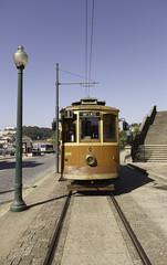 Old Tram in Lisbon