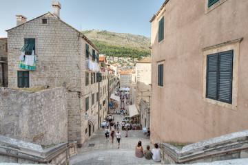 Dubrovnik stare miasto z góry