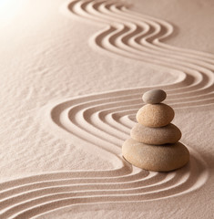 Obraz zen meditation garden - fototapety do salonu