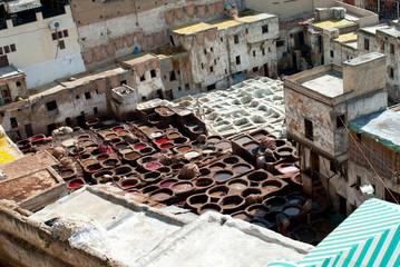 Marocco conceria tradizionale