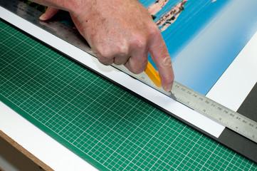 Cutting A Print
