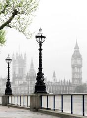 Fototapeta Big Ben & Houses of Parliament, idyllic view