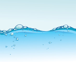 Abstract background of water wave