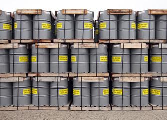 arctic fuel drums