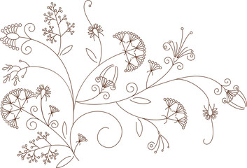 Floral  pattern, plant ornament