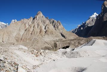 Beautiful mountain landscape.Peak.Area.Pakistan