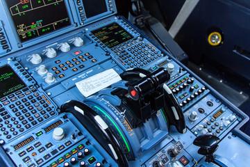 Cockpit console