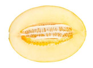 melon cut half