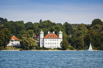 Pocci Castle at Starnberg lake
