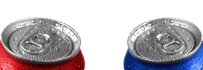 Fresh Cans of Soda Pop