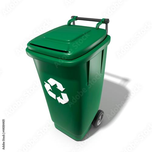poubelle recyclage photo libre de droits sur la banque d 39 images image 44084401. Black Bedroom Furniture Sets. Home Design Ideas